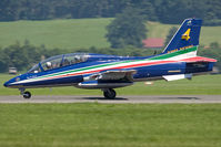 MM54534 @ LOXZ - Italy Air Force MB-339 - by Andy Graf-VAP