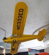 N333ED - Piper J3F-50 Cub at the San Diego Air & Space Museum, San Diego CA