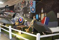 N721WK - Supermarine Spitfire Mk XVI at the San Diego Air & Space Museum, San Diego CA