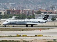 EC-GQG @ BCN - Arrival on Barcelona Airport - by Willem Goebel