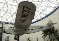 N9637 - Ford 5-AT-B TriMotor at the San Diego Air & Space Museum, San Diego CA - by Ingo Warnecke