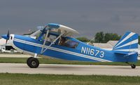 N11673 @ KOSH - Bellanca 7GCBC - by Mark Pasqualino