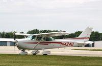 N1424U @ KOSH - Cessna 172M - by Mark Pasqualino