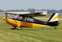 N11023 @ OSH - 1965 Champion 7ECA, c/n: 249 at Oshkosh 2011