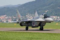 38 @ LOXZ - Poland Air Force MIG29 - by Andy Graf-VAP