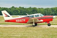 N8187P @ OSH - 1963 Piper PA-24-250, c/n: 24-3443 at 2011 Oshkosh