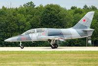 N139GS @ OSH - Aero Vodochody L39C, c/n: 432833 , RED 63 at 2011 Oshkosh - by Terry Fletcher