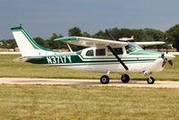 N3717Y @ OSH - 1963 Cessna 210C, c/n: 21058217 at 2011 Oshkosh