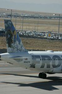 N942FR @ DEN - Taken at Denver International Airport, in March 2011 whilst on an Aeroprint Aviation tour - by Steve Staunton