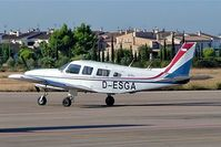D-ESGA @ LESB - Piper PA-32-300 Cherokee Six 300E [32-7940213] Palma - Son Bonet~EC 17/09/2004 - by Ray Barber