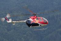 D-HTDM @ LOXZ - Flying Bulls BO-105 - by Andy Graf-VAP