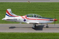 056 @ LOXZ - Croatia Air Force PC-9 - by Andy Graf-VAP