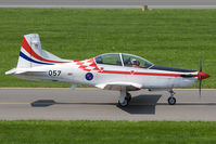 057 @ LOXZ - Croatia Air Force PC-9 - by Andy Graf-VAP