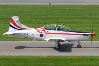 062 @ LOXZ - Croatia Air Force PC-9 - by Andy Graf-VAP