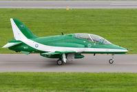 8807 @ LOXZ - Saudi Hawks BAE Hawk - by Andy Graf-VAP