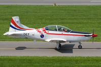067 @ LOXZ - Croatia Air Force PC-9 - by Andy Graf-VAP