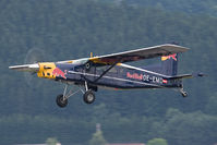 OE-EMD @ LOXZ - Flying Bulls PC-6
