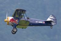 OE-AMM @ LOXZ - Flying Bulls Boeing E75