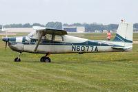N6077A @ OSH - 1956 Cessna 172, c/n: 28677 at 2011 Oshkosh
