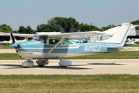 N111CJ @ OSH - 1973 Cessna 182P, c/n: 18262621 at 2011 Oshkosh - by Terry Fletcher