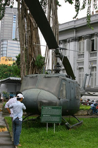 69-15812 @ VVTS - neglected old UH-1 at a Ho Chi Minh City museum - by Bill Mallinson