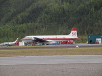 C-GKUG - At Dawson City YT - by Monty Young