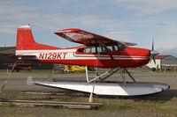 N129KT @ LHD - Ex K2 Air? - by Duncan Kirk