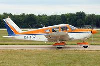 C-FYSZ @ OSH - 1969 Piper PA-28-180, c/n: 28-5205 at 2011 Oshkosh - by Terry Fletcher