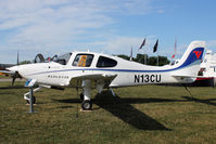 N13CU @ OSH - Cirrus Design Corp SR20, c/n: 2092 in Static Display at 2011 Oshkosh - by Terry Fletcher