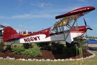 N66WY @ OSH - Aviat Aircraft Inc A-1C-200, c/n: 3116 on Static Display at 2011 Oshkosh