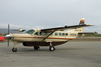 N1123R @ OME - Bering Air has several Caravans - by Duncan Kirk