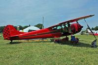 N9854A @ OSH - 1952 Cessna 190, c/n: 7547 , camping at 2011 Oshkosh