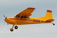 N8081E @ OSH - 1974 Cessna A185F, c/n: 18502329 at 2011 Oshkosh - by Terry Fletcher