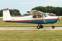 N4126F @ OSH - 1958 Cessna 172, c/n: 46026 at 2011 Oshkosh