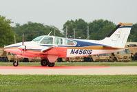 N4561S @ OSH - 1975 Beech 95-B55 (T42A), c/n: TC-1897 at 2011 Oshkosh