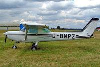 G-BNPZ @ EGBP - Cessna 152 [152-85134] Kemble~G 09/07/2004. - by Ray Barber
