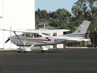 N123GH @ POC - Parked in Howard Aviation parking area - by Helicopterfriend