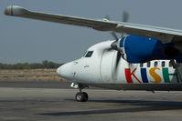 EP-LBV @ OMSJ - Kish Air Fokker 50