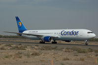 D-ABUH @ OMSJ - Condor Boeing 767-300
