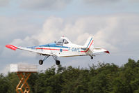 F-GAPL @ LFFQ - Towing aircraft during the Ferté Alais airshow - by olivier Cortot