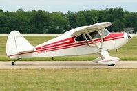 N2902P @ OSH - 1955 Piper PA-22-150, c/n: 22-3168 at 2011 Oshkosh