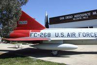56-1268 - Convair F-102A Delta Dagger at the San Diego Air & Space Museum's Gillespie Field Annex, El Cajon CA - by Ingo Warnecke