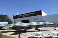 163269 - General Dynamics F-16N Fighting Falcon at the San Diego Air & Space Museum's Gillespie Field Annex, El Cajon CA - by Ingo Warnecke