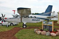 N504KQ @ OSH - 2009 Quest Aircraft Company Llc KODIAK 100, c/n: 100-0028 on Static Display at 2011 Oshkosh