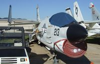 150297 - Vought F-8E Crusader at the San Diego Air & Space Museum's Gillespie Field Annex, El Cajon CA - by Ingo Warnecke