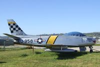 51-12958 - North American F-86F Sabre at the San Diego Air & Space Museum's Gillespie Field Annex, El Cajon CA - by Ingo Warnecke