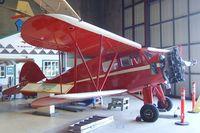 N17713 - Waco YKS-7 at the San Diego Air & Space Museum's Gillespie Field Annex, El Cajon CA - by Ingo Warnecke
