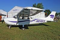 N814KS @ OSH - 2005 Cessna 172R, c/n: 17281248 - static display at 2011 Oshkosh