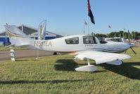 N511EA @ OSH - 1999 Express Aircraft Company Llc MILLENNIUM, c/n: 990004-M on static display at 2011 Oshkosh