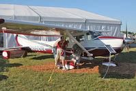 N182CX @ OSH - 1974 Cessna 182P, c/n: 18262882 on static display at 2011 Oshkosh